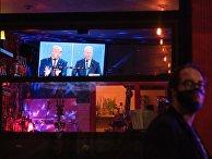 Трансляция дебатов кандидатов в президенты США