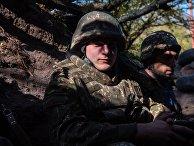 Военнослужащие армии обороны Нагорно-Карабахской Республики
