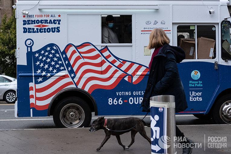 Предвыборная агитация в США