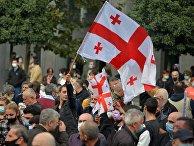 Акция оппозиции в Тбилиси