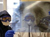Работа ковид-госпиталя в Белгородской области