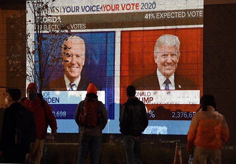 Результаты президентских выборов в Вашингтоне