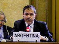 Аргентинский дипломат Эдуардо Суайн