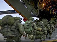 Отправка миротворцев ВС РФ в Нагорный Карабах