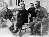Советские дипломаты Максим Литвинов, Вацлав Воровский, Станислав Пилявский, Леонид Красин
