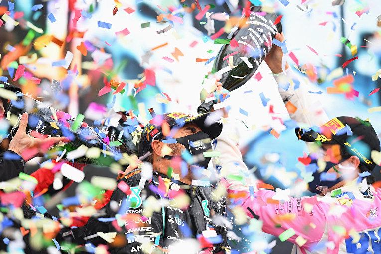 Церемония награждения на Гран-при Турции