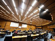 Заседание в штаб-квартире ООН в Вене, Австрия