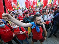 Акция с требованием отставки Зеленского в Киеве
