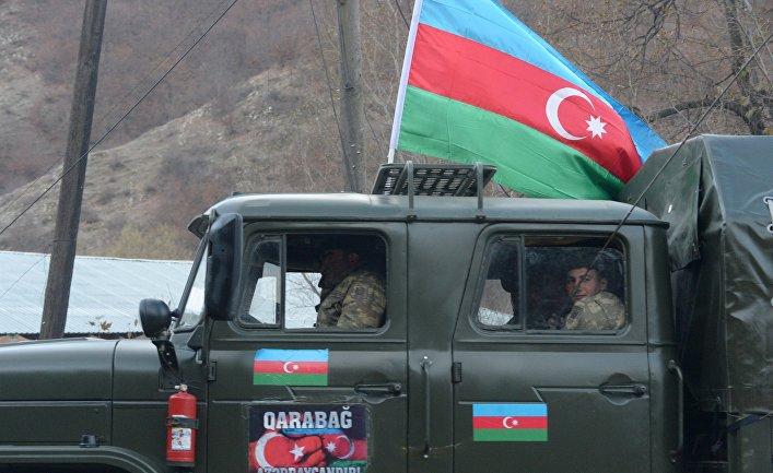 Азербайджанская армия вошла в Кельбаджарский район