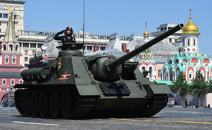 Противотанковая самоходная установка Су-100