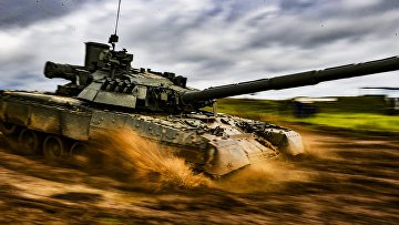 Учения танковой армии Западного военного округа