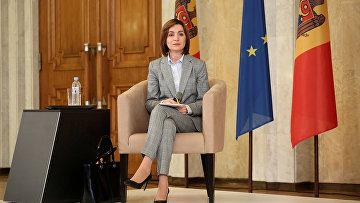 Избранный президент Молдавии Майи Санду