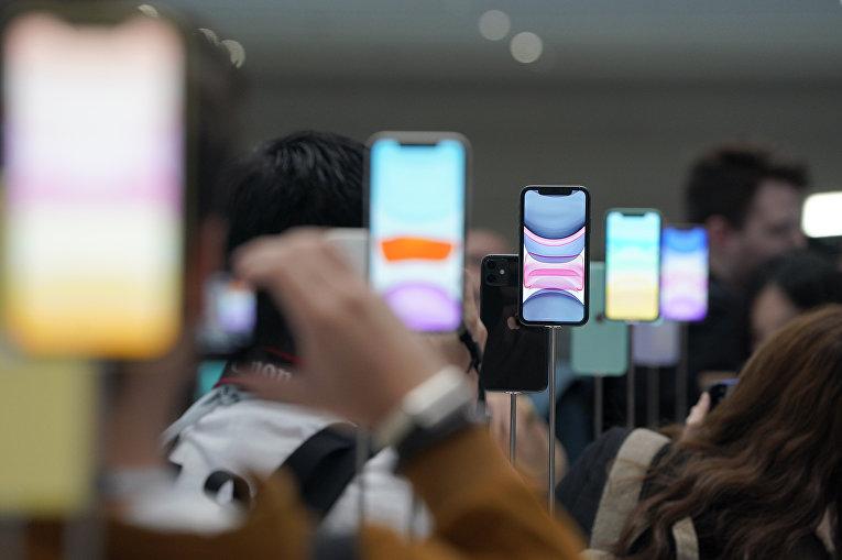 Презентация iPhone 11 Pro и Max для фурналистов