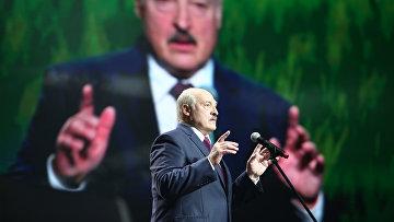 17 сентября 2020. Лукашенко выступает в Минске, Белоруссия