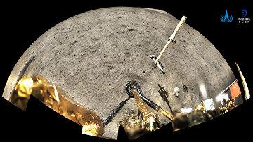 Китайский зонд «Чанъэ-5» на Луне