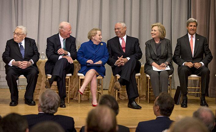 Бывшие госсекретари США