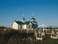 Православный храм в Нинильчике, Аляска