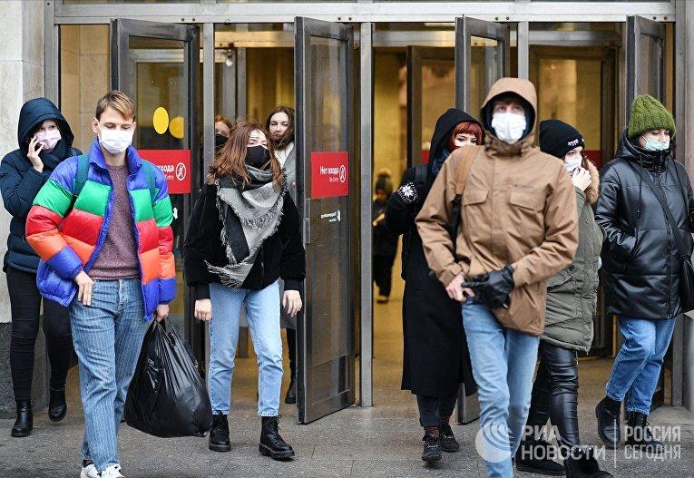 Москва в период пандемии коронавируса
