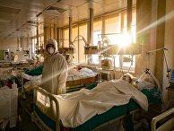Госпиталь для больных COVID-19 в ГКБ № 15 имени О. М. Филатова
