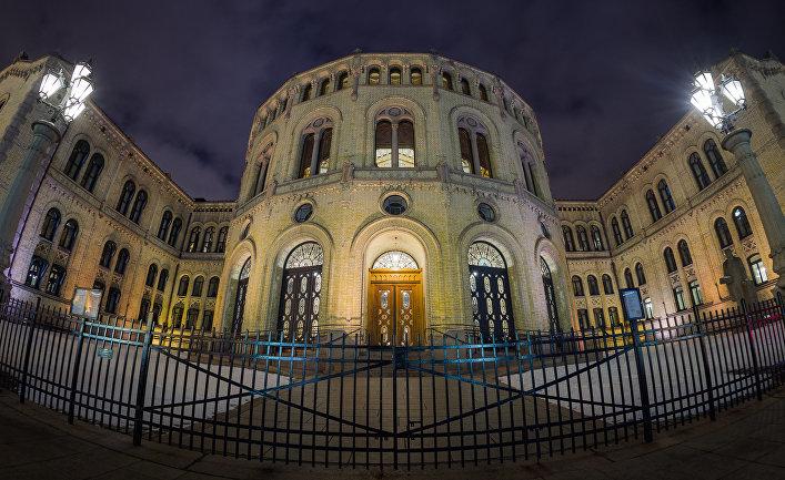 Стортинг, парламент Норвегии. Осло