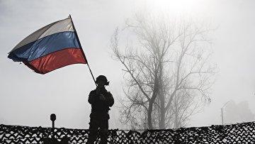Концерт на блокпосту российских миротворцев в Карабахе