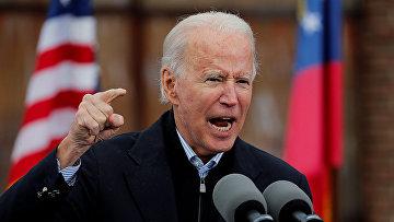 Избранный президент США Джо Байден выступает