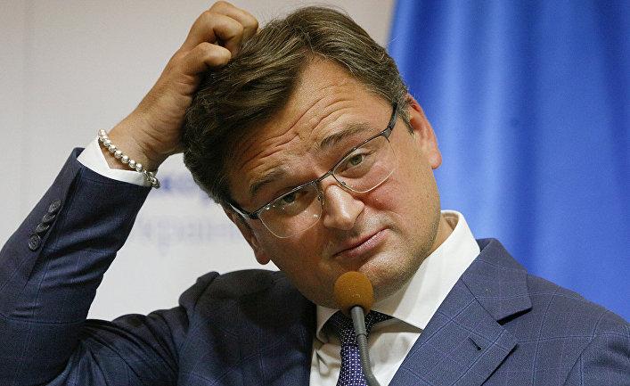Министр иностранных дел Украины Дмитрий Кулеба