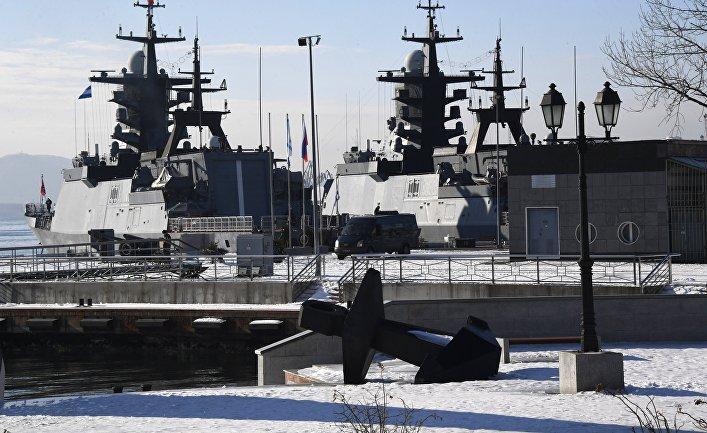 Военный причал Тихоокеанского флота