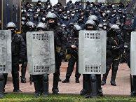 Акция протеста фермеров в Кишиневе