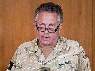 Начальник британского Генерального штаба генерал Ник Картер