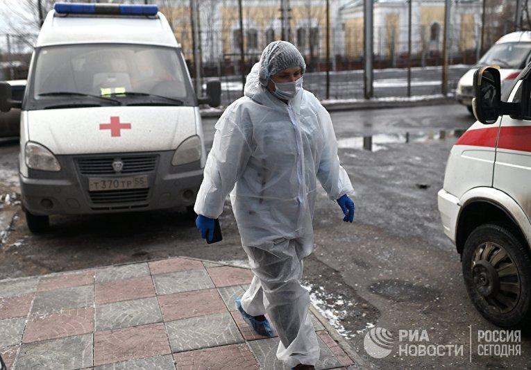 Работа скорой помощи в Омске