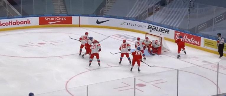 Чехия – Россия на молодёжном чемпионате мира—2021