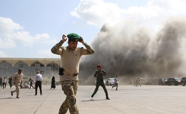 Теракт в аэропорту Адена