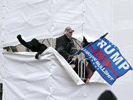 Протесты сторонников Трампа, 6.01.2021
