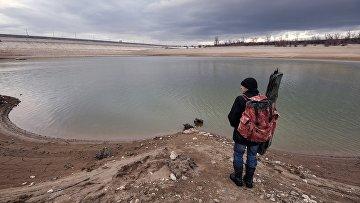 Симферопольское и Аянское водохранилища в Крыму