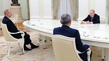 Трёхсторонняя встреча президентов России, Азербайджана и Армении