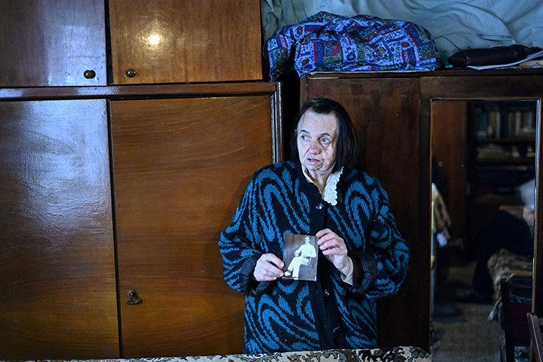 Елизавета Михайлова в своем доме