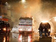 Протесты в Тунисе