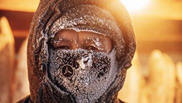 Аномальные морозы в Якутске
