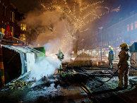 Последствия беспорядков в Роттердаме, Нидерланды