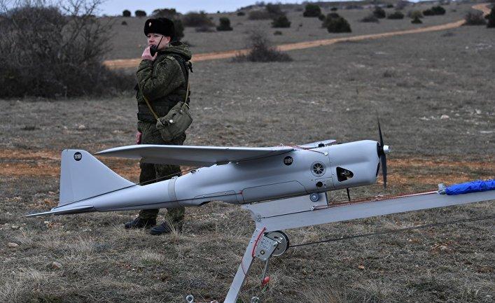 """Запуск БПЛА """"Орлан-10"""""""
