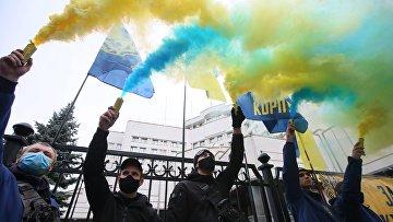 Акция у Конституционного суда в Киеве