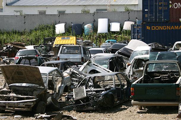 Склад аварийных автомобилей
