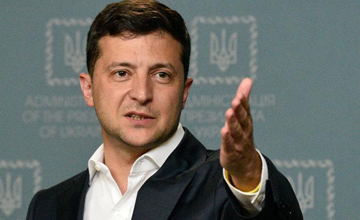 Доклад президенту Украины В. Зеленскому о расследовании убийства журналиста П. Шеремета