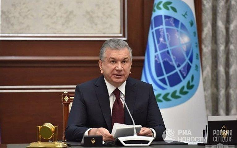 Президент Узбекистана Шавкат Мирзиеев