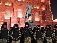 Несанкционированная акция сторонников А. Навального