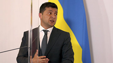 Президент Украины Владимир Зеленский