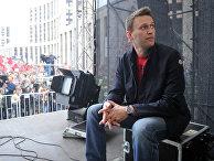 """Блогер Алексей Навальный на акции """"Марш миллионов"""""""