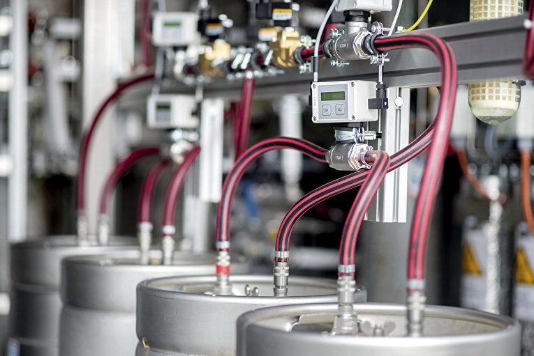 Оборудование для производства водорода на заводе в Германии