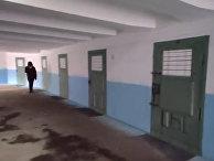 Тюремный коридор в Киеве